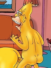 Homer Simpson's boyfriends